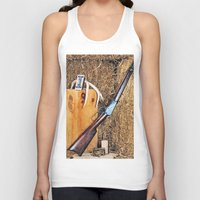 winchester Tank Tops featuring Winchester Rifle by Captive Images Photography