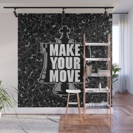 Make Your Move Chess Wall Mural