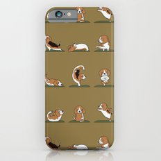 Beagle Yoga iPhone 6 Slim Case