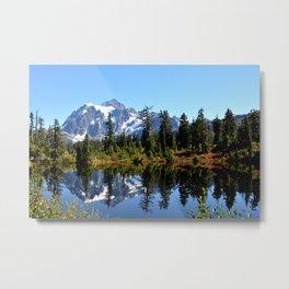 Mount Shuksan on a Sunny Day Metal Print