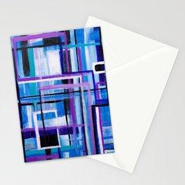 Blue Mayhem Stationery Cards