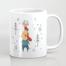 Merry Christmas card Coffee Mug