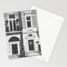 London Facade: B&W Stationery Cards