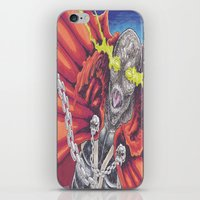 spawn iPhone & iPod Skins featuring Spawn Al Simmons by Wayne Tully