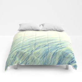 Blue grass for Cindy Comforters