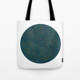 Vinefly on blue Tote Bag