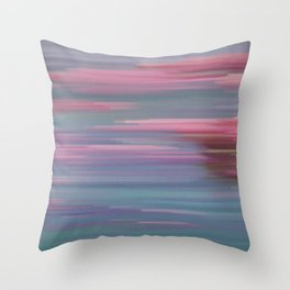 Glitched v.2 Throw Pillow