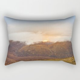 Sunrise over Mourne Mountains Northern Ireland Rectangular Pillow