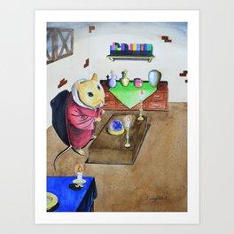 Mouse, The Sorcerer Art Print