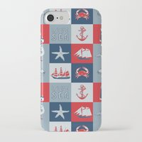 nautical iPhone & iPod Cases featuring Nautical by Julscela
