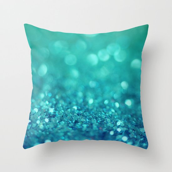 Bubble Party Throw Pillow