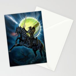 Heavy Metal Knights Stationery Cards