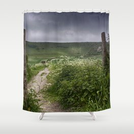 The Long Man Shower Curtain