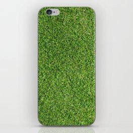 Green Grass by Silvana Arias iPhone Skin