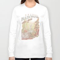 parks Long Sleeve T-shirts featuring Adventure National Parks by Taylor Rose