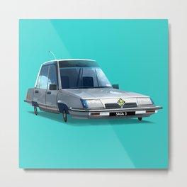 Proton Saga 1985 /3 Metal Print