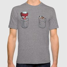 a little of Gravity Falls Tri-Grey Mens Fitted Tee SMALL
