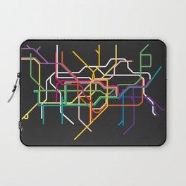 london metro map Laptop Sleeve