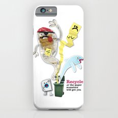 Recycled Paper Monsters iPhone 6s Slim Case