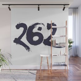 Twenty Six Point Two Wall Mural