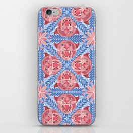 Pink Panther Pattern iPhone Skin