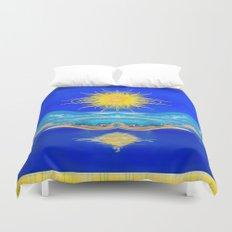 Sacred Sun Duvet Cover