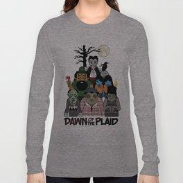 Dawn of the Plaid Long Sleeve T-shirt