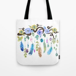 Wild Wood Roses And Twisted Branches Spirit Gazer Tote Bag
