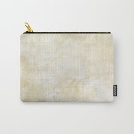 Grunge beige watercolor marble background Carry-All Pouch