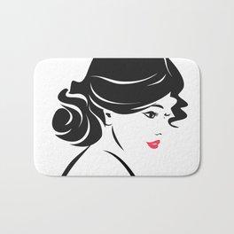 Beautiful Women Bath Mat
