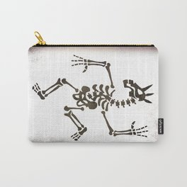 Skeleton Unicorn Dance 2 Carry-All Pouch