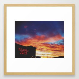 Never Too Busy Framed Art Print