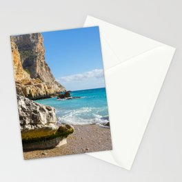 Beach, Sun and Mediterranean Sea - Cala Moraig 2 Stationery Cards