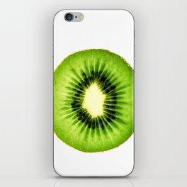 Kiwi Fruit Slice iPhone Skin