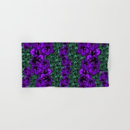 life in jungle so beautiful filled of ornate flowers Hand & Bath Towel