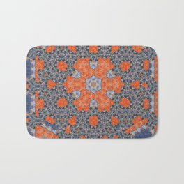 Tomato Cannery Blues Bath Mat
