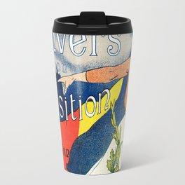 Antwerp art expo 1895 Travel Mug