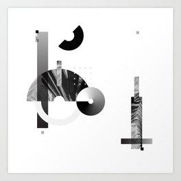 Minimal balance exploration 1 Art Print