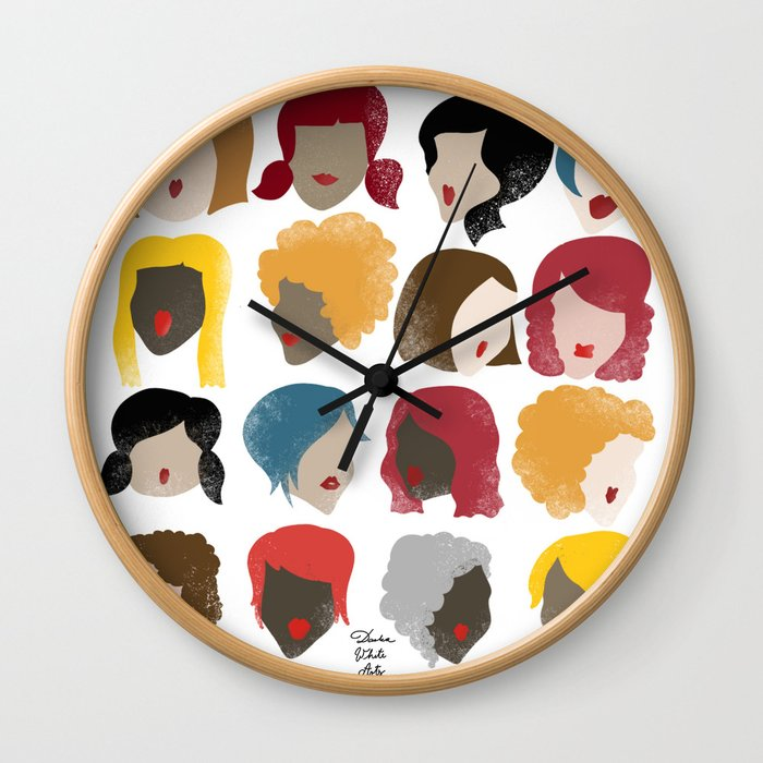 Harry the Hairdresser Wall Clock