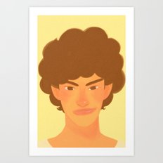 Smug you are  Art Print
