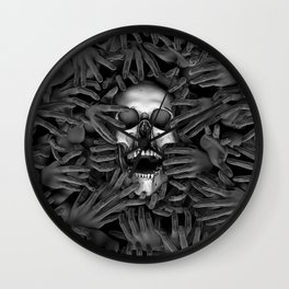 Hell Reclaims It's Own Wall Clock