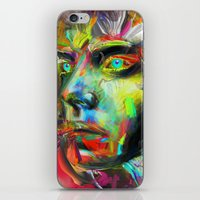archan nair iPhone & iPod Skins featuring Rainscape Rhythm by Archan Nair