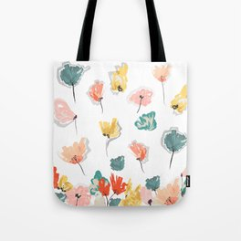 Wild Beauty Saffron Tote Bag