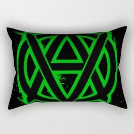 Vegan Anarchism Rectangular Pillow