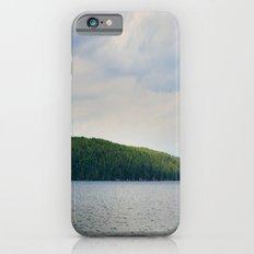 Tiny sailboat, large island Slim Case iPhone 6