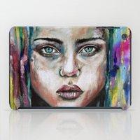 waterfall iPad Cases featuring Waterfall  by Bella Harris