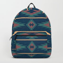Native Spirit Pattern Backpack