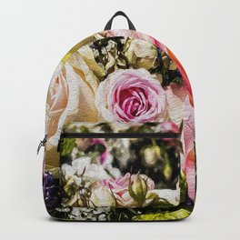 Shabby Roses Backpack