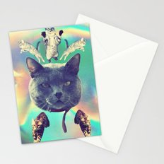 galactic Cats Saga 3 Stationery Cards