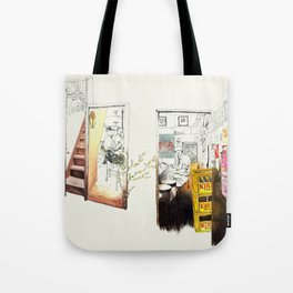 Tuesday Night Doors Tote Bag